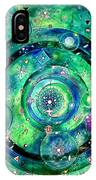 Universe Inside Of Electrons. Periodic Table Of The Elements IPhone Case