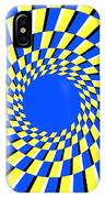 Peripheral Drift Illusion  IPhone Case