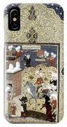 Persian Nobleman IPhone Case