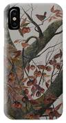 Persimmon Tree IPhone Case