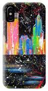 Perth Skyline Alla Pollock  IPhone Case