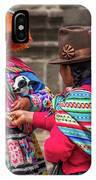 Peruvian Costume IPhone Case