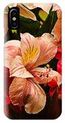 Peruvian Lily Grain IPhone Case