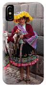 Peruvian Native Costumes  IPhone Case