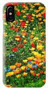 Poppy Petal Patch IPhone Case