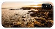 Petal Point Ocean Sunrise IPhone X Case