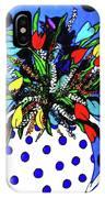 Petals And Dots IPhone Case