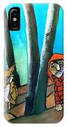 Peter And The Wolf IPhone Case