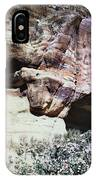 Petra, Transjordan: Cave IPhone Case