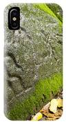 Petroglyphs At An Archaeological Site IPhone Case