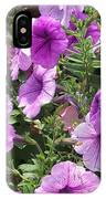 Petunias IPhone X Case