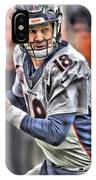 Peyton Manning Art 1 IPhone Case