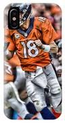 Peyton Manning Art 2 IPhone Case