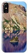 Phantom Ship In Crater Lake IPhone Case