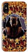 Pharaoh In The Starry Night IPhone Case