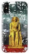 Pharaoh Of Egypt IPhone Case