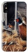 Pheasant Open House IPhone Case