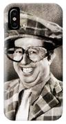 Phil Silvers, Comedy Legend IPhone Case