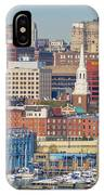 Philadelphia - From The Ben Franklin Bridge IPhone Case