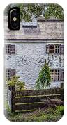 Philipsburg Manor House - Thru The Woods IPhone Case