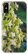 Philipsburg Manor - White Blossom IPhone Case