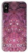 Photo 0800 Autumn Tree Leaves Fractal  E1 Mid Top  IPhone Case