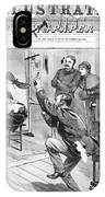 Photographer, 1882 IPhone Case