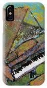 Piano Aqua Wall IPhone Case