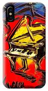Piano Music Jazz IPhone Case