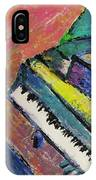 Piano With Yellow IPhone Case