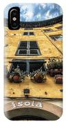 Piazza Dell'anfiteatro, Lucca, Italy IPhone Case