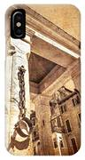 Piazza Erbe IPhone Case