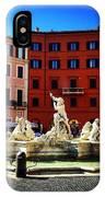 Piazza Navona 4 IPhone Case