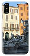 Piazza Navona Rome IPhone Case