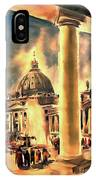 Piazza San Pietro In Roma Italy IPhone Case