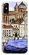 Piazzo San Marco Venice Italy IPhone Case
