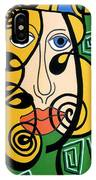 Picasso Influence IPhone Case