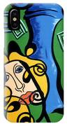Picasso Influence With A Greek Twist IPhone Case