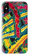 Picasso Paintbrush Croton IPhone Case