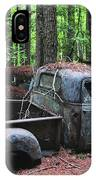 Pick Up Truck In The Woods IPhone Case