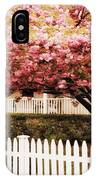 Picket Fence Charm IPhone Case