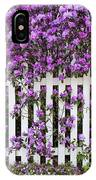 Picket Fence Rhododendron IPhone Case