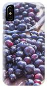 Picking Whortleberries IPhone Case