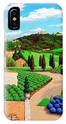 Picnic In Tuscany IPhone Case