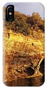 Pictured Rocks Caves IPhone Case