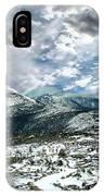 Picturesque Mountain Landscape IPhone Case
