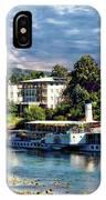 Picturesque River Cruise IPhone Case