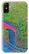 Pierce Stocking Covered Bridge In Sleeping Bear Dunes National Lakeshore-michigan IPhone Case