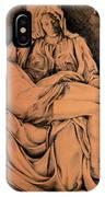 Pieta Study IPhone Case