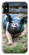Pig Out IPhone Case